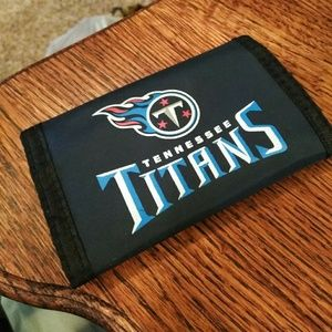 Tennessee Titans Tri-fold Velcro Wallet